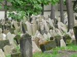 Unbelievably touching Jewish cemetery