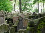 Jewish cemetery...there are no words
